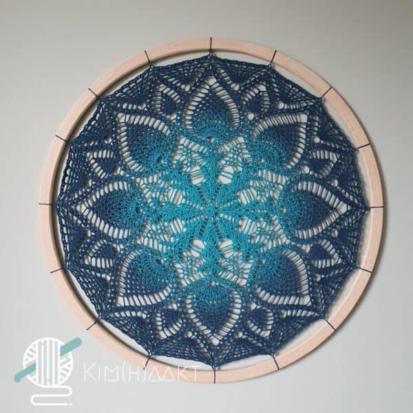 gehaakte mandala 60 centimeter